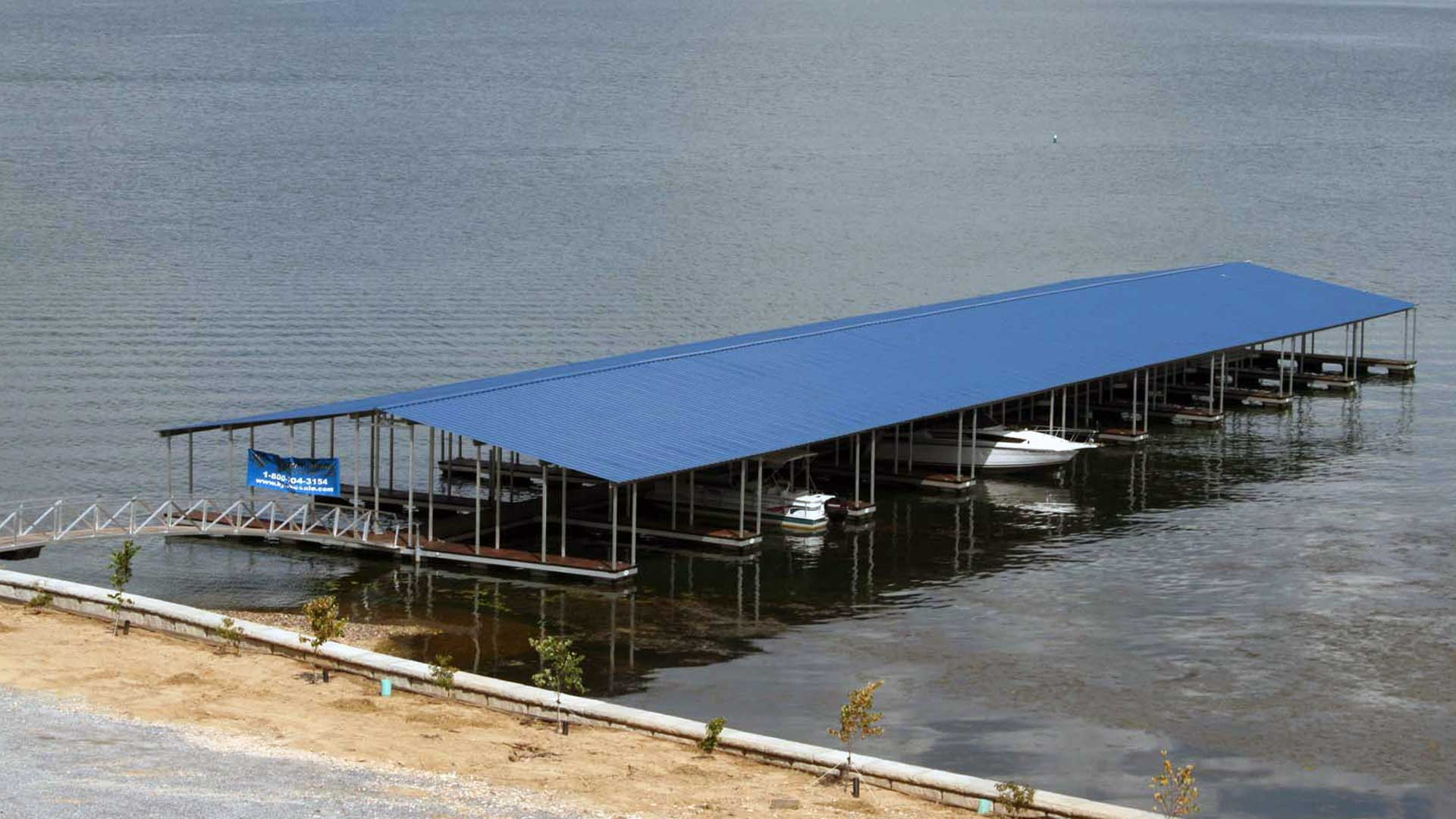 aluminum community dock