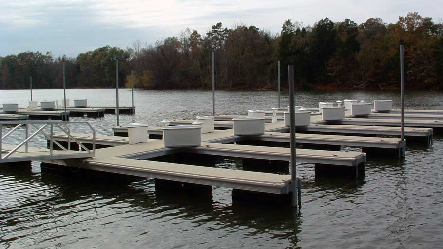 aluminum commercial docks