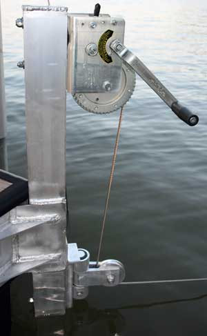 Dock Anchoring Systems Cables and Winches