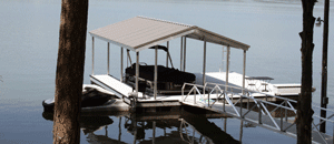Residential Aluminum Docks by Alumadock Gable X9