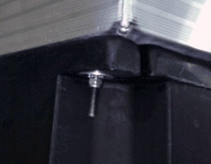 Aluminum Frame Float Attachment with J Bolt on Alumadock