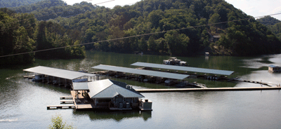 Dock Anchoring Systems - Aluminum Docks and Gangways by