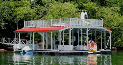 Sundeck And Roof Docks Aluminum Docks And Gangways By