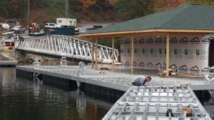commercial docks and commercial dock system by alumadock