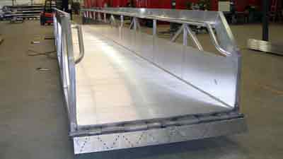 Heavy Duty Commercial Gangway by Alumadock